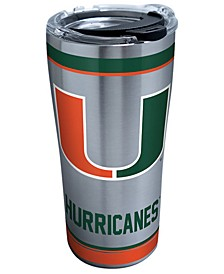 Miami Hurricanes 20oz Tradition Stainless Steel Tumbler
