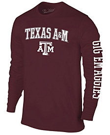 Colosseum Men's Texas A&M Aggies Midsize Slogan Long Sleeve T-Shirt
