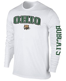 Men's Ohio Bobcats Midsize Slogan Long Sleeve T-Shirt