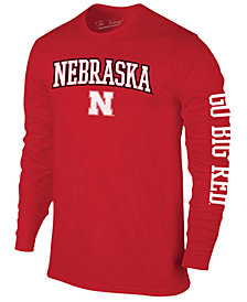 Colosseum Men's Nebraska Cornhuskers Midsize Slogan Long Sleeve T-Shirt