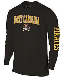 Colosseum Men's East Carolina Pirates Midsize Slogan Long Sleeve T-Shirt