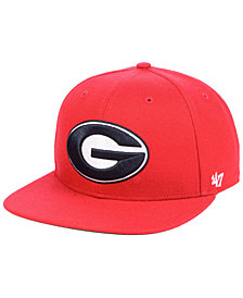 '47 Brand Georgia Bulldogs Core Fitted Cap