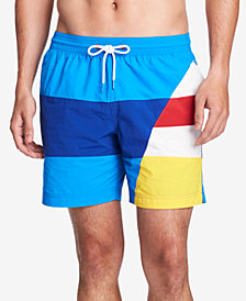 Tommy Hilfiger Men's Riviera Swim Trunks