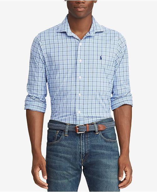 2c51dacf8f64a Polo Ralph Lauren Men s Classic Fit Performance Shirt   Reviews ...