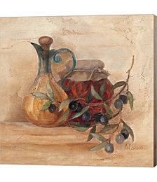 Tuscan Table IV by Albena Hristova Canvas Art