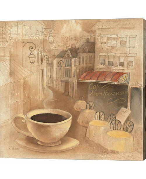 Metaverse Cafe De Paris I by Albena Hristova Canvas Art