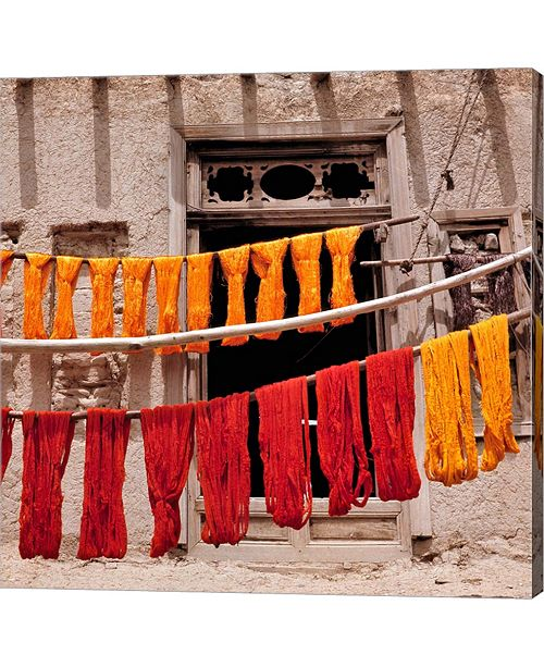 Metaverse Wool Drying Textile, Ghazni, Afghanistan by Ric Ergenbright,Danita Delimont Canvas Art