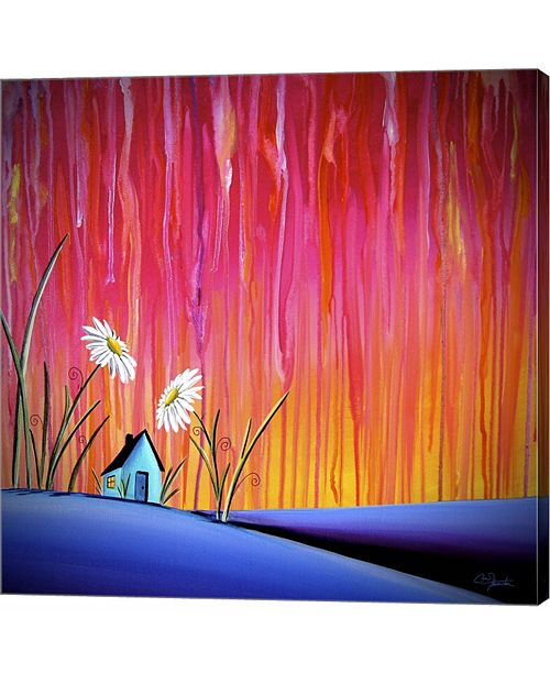 Metaverse Where Flowers Bloom by Cindy Thornton Canvas Art