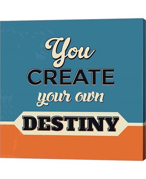 Metaverse You Create Your Own Destiny by Lorand Okos Canvas Art