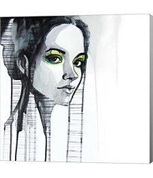 Green Eyes by Rebekka Canvas Art