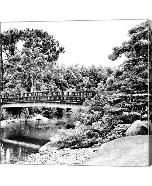 Metaverse The First Bridge to The Morikami Gardens by Harold Silverman Canvas Art