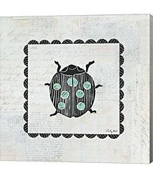 Ladybug Stamp by Courtney Prahl Canvas Art