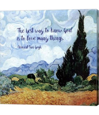 metaverse know god van gogh quote by quote master canvas
