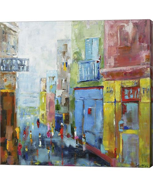 Metaverse Procida by Solveiga Canvas Art
