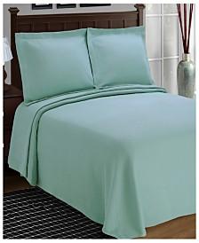Superior Solitaire 100% Cotton Bedspread - King
