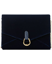 Lauren Ralph Lauren Bennington Envelope Crossbody, Created for Macy's