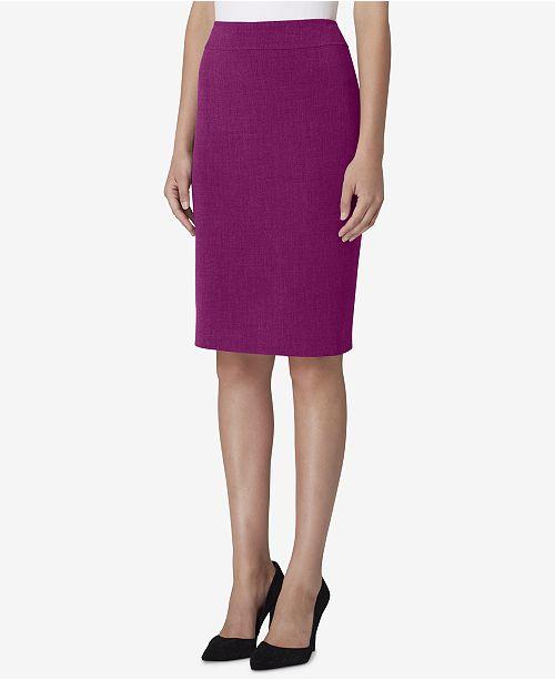 Tahari ASL Slit-Back Pencil Skirt - Skirts - Women - Macy s 9da521e2f71
