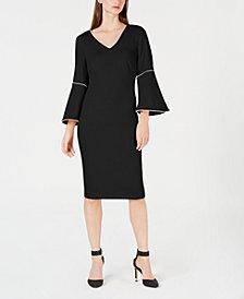 Calvin Klein Bell-Sleeve Dress