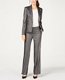 Nine West One-Button Blazer & Trouser Pants