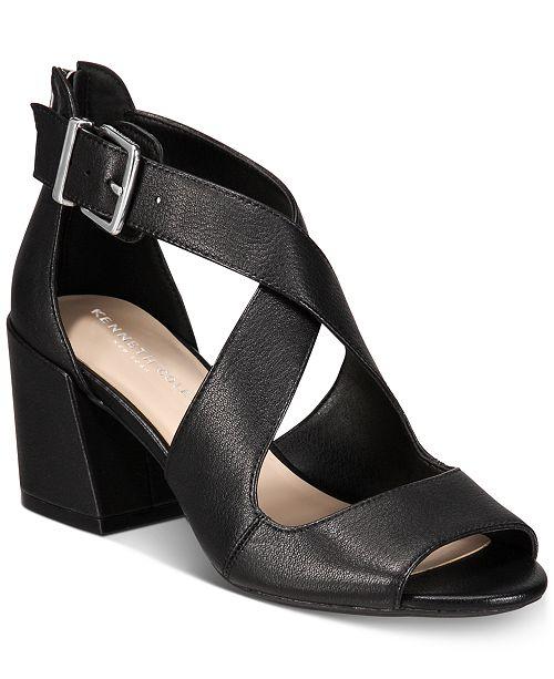 01356ba8a5e Kenneth Cole New York Women s Hannon Crisscross Sandals   Reviews ...