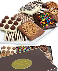 12-Pc. Ultimate Belgian Chocolate Covered Graham Crackers