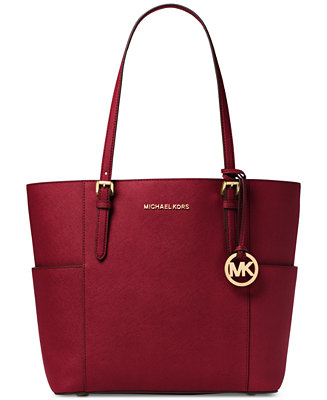 6dde2cb6c048 Michael Kors Jet Set Travel Large Tote   Reviews - Handbags   Accessories -  Macy s