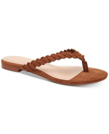 BCBGeneration Gabriela Braided Flat Sandals