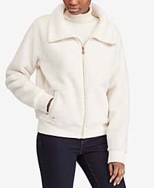 Lauren Ralph Lauren Faux-Shearling Full-Zip Jacket