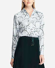 Lauren Ralph Lauren Floral-Print Shirt