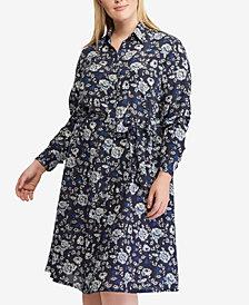 Lauren Ralph Lauren Plus Size Printed Shirtdress