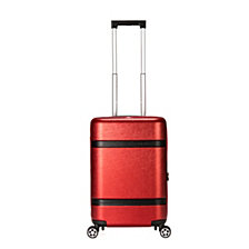 """Triforce David Tutera Bordeaux 22"""" Carry On Spinner Luggage"""