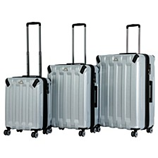 "Triforce Ranger 3pc Set 21""26""30"" Spinner Luggage"