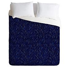 Iveta Abolina Royal Blue Silk King Duvet Set