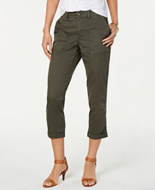 Style & Co Cuffed Capri Pants, Created for Macy's