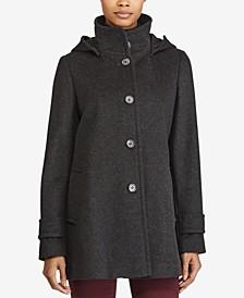 Hooded A-Line Coat