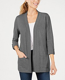 Cotton Cozy Cardigan, In Regular and Petite, Created for Macy's