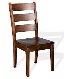 Tuscany Vintage Mocha Ladderback Chair