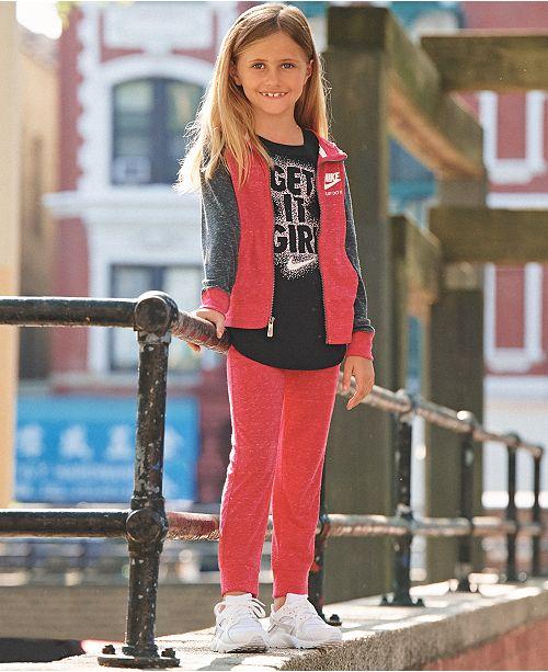 65ef979509e9 Nike Toddler Girls Gym Vintage Hoodie   Reviews - Sweaters - Kids ...