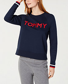 Tommy Hilfiger Sport Embroidered-Logo Sweatshirt