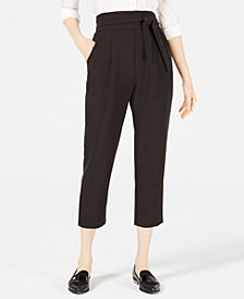 LEYDEN High-Waist Cropped Pants