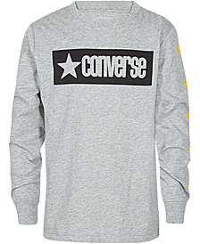Converse Big Boys Vintage-Style Logo Graphic Cotton T-Shirt