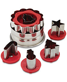 Cake Boss Linzer Cookie Cutter Set