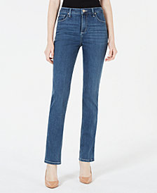 Lee Platinum Gwen Straight-Leg Jeans