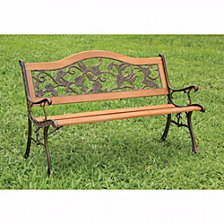 Transitional Park Bench