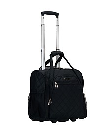 "Rockland Melrose 15"" Wheeled Underseat Luggage"