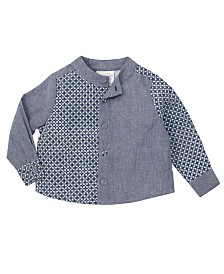 Masala Baby Baby Boy's Organic Cotton Philo Shirt