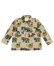 Masala Baby Baby Boy's Mason Shirt Wonderful World