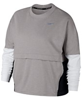 68741a4744d Nike Plus Size Therma Sphere Running Top