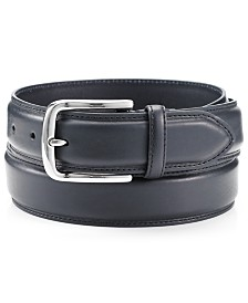 Club Room Big & Tall Casual Leather Belt