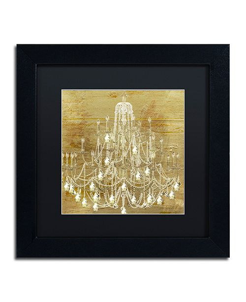 """Trademark Global Color Bakery 'Dancing On The Ceiling Ii' Matted Framed Art, 11"""" x 11"""""""